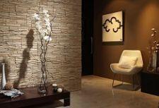 Декоративный камень в интерьере фото примеров отделки