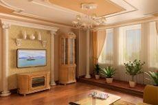 Лепнина в интерьере фото в квартире
