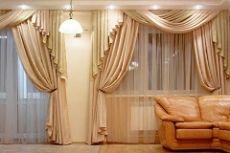 Дизайн штор для зала в современном стиле фото идеи