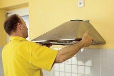 Установка вытяжки на кухне инструкция