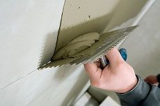 Чем и как штукатурить газобетон внутри помещения?