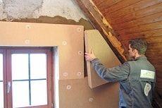 Утеплитель для стен внутри дома на даче фото
