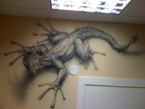 3д рисунки в квартире фото