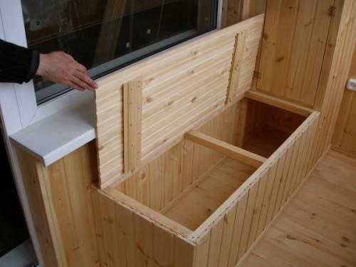Ящик скамья своими руками