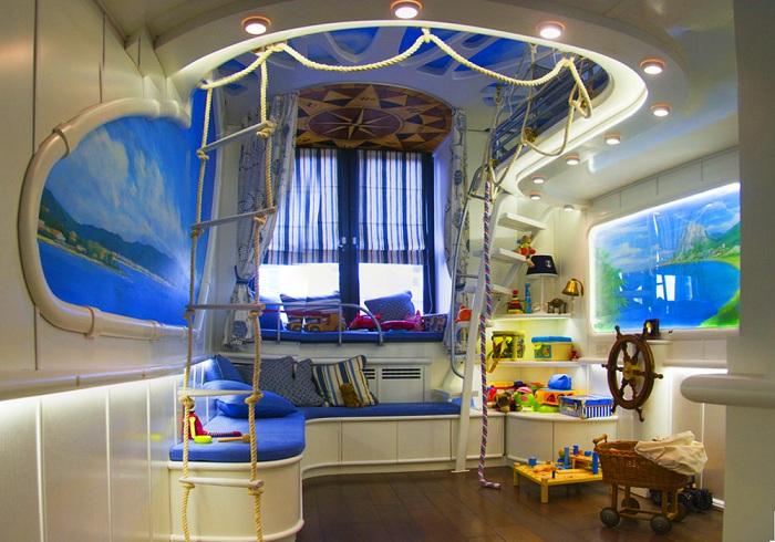 дизайн детской комнаты для мальчика советы специалистов