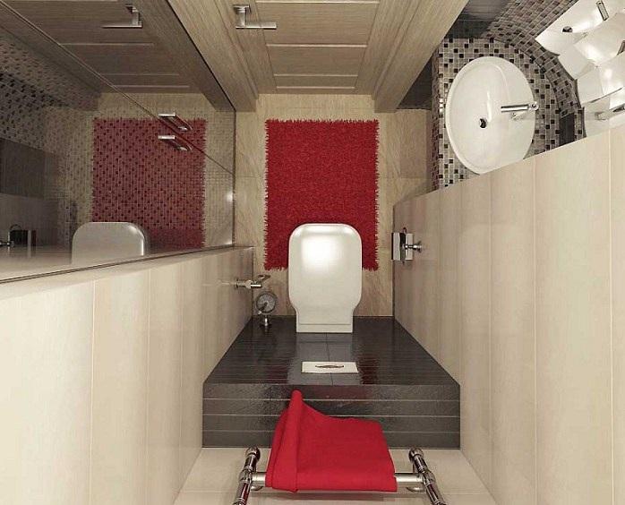 Дизайн маленького туалета в хрущевке фото