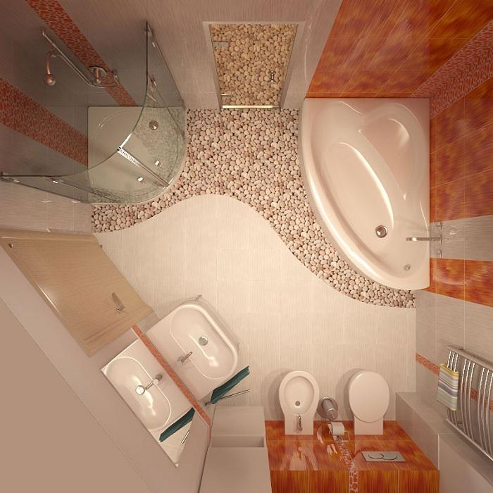 Ремонт в ванной комнате в хрущёвке своими руками