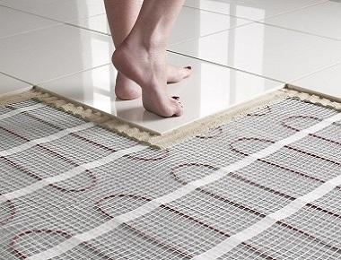 Теплый пол под плитку: какой лучше подойдет, виды, расчет, технология укладки