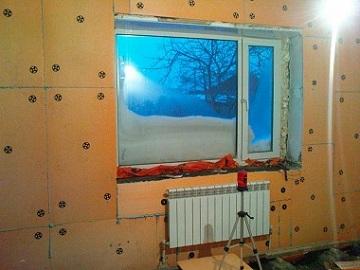 Kako izolirati zid v kotičku