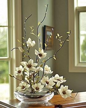 Комнатные цветы в интерьере фото