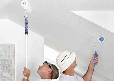 Как побелить потолок своими руками не смывая фото 387