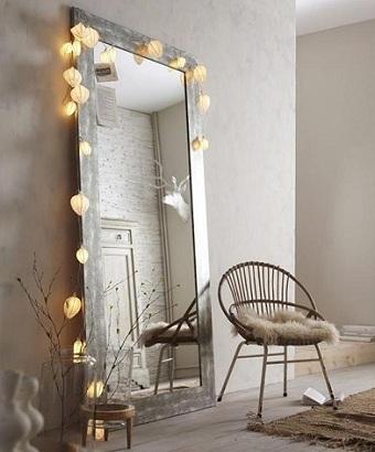 Дизайн зеркала в прихожей