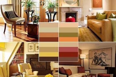 Сочетание цветов в интерьере гостиной: 113 фото ЭтотДом