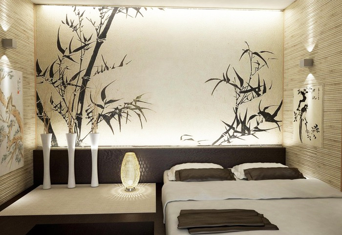 Спальня в японском стиле фото идеи