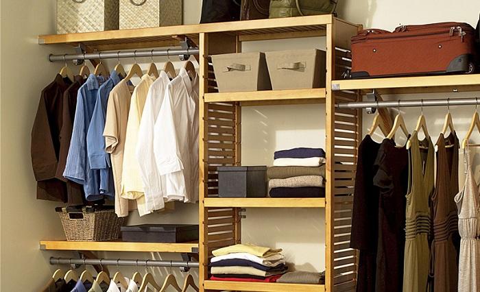 Материал для полок в гардеробной.