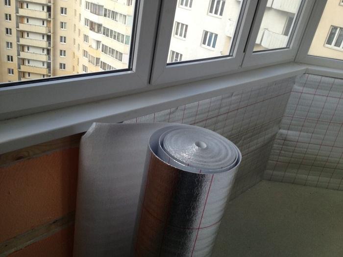 Как правильно утеплить балкон изнутри своими руками фото