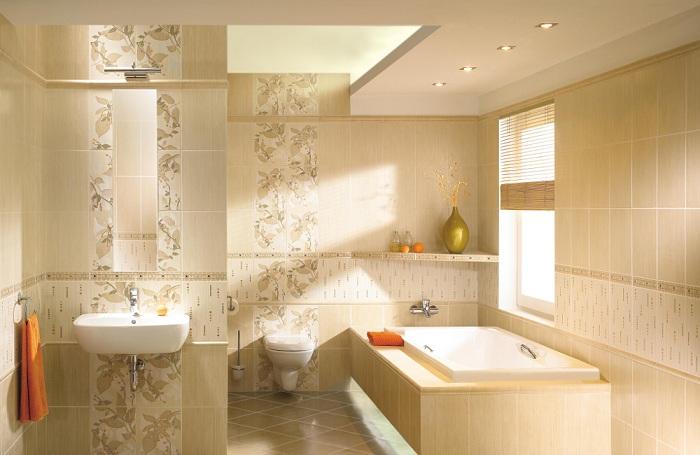 Укладки плитки в ванной фото варианта