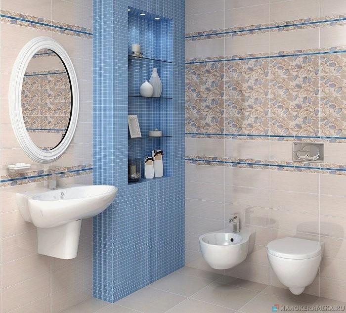 Раскладка плитки в ванную фото и схемы