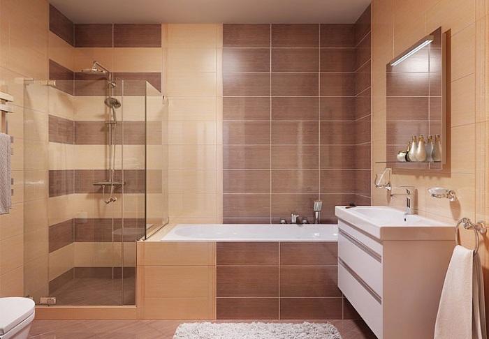 Укладки плитки в ванной фото варианты
