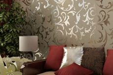 Какие обои выбрать для зала чтобы комната казалась больше и светлее