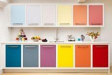 Варианты сочетание цветов в интерьере кухни