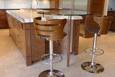 Размеры высоты барной стойки и стульев на кухне от пола