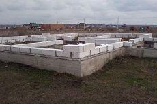Какой фундамент нужен для дома из пеноблоков?