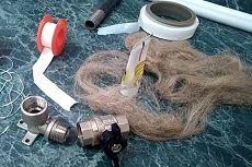 Что лучше для уплотнения резьбы: фум-лента или лен сантехнический