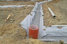 Дренажная система водоотведения на участке: виды и их устройство