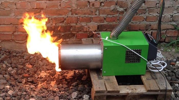 Факельная пеллетная горелка своими руками