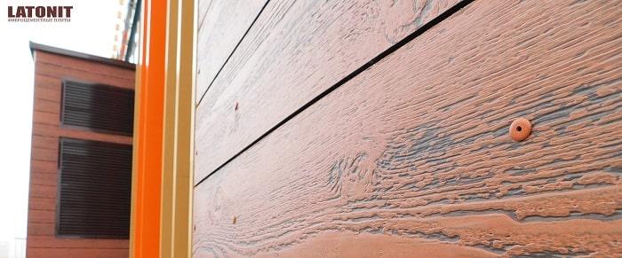 Фиброцементные фасадные панели технология отделки фасада панелями из фиброцемента фибробетона  фото