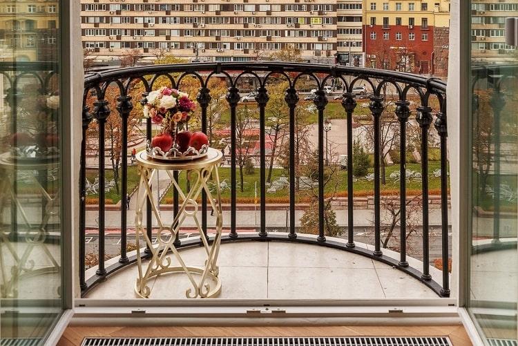 французский балкон фото изнутри
