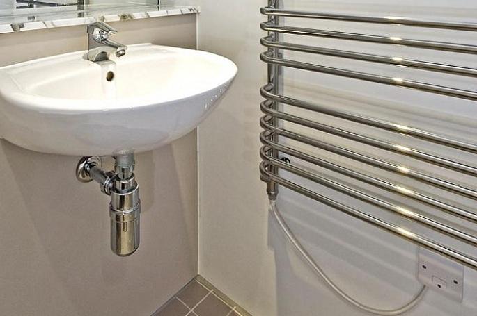 Электрический полотенцесушитель фото