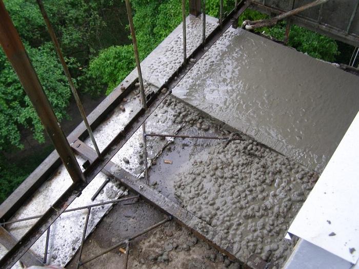 Пол на балконе фото