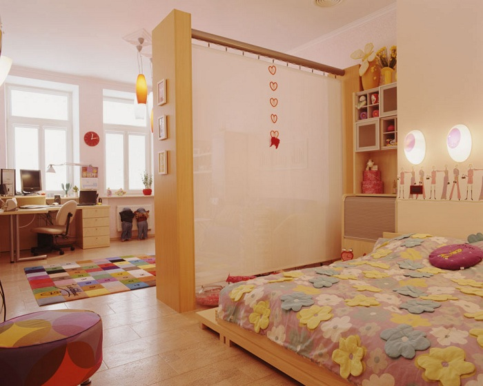 Как из однокомнатной квартиры сделать двухкомнатную фото идеи