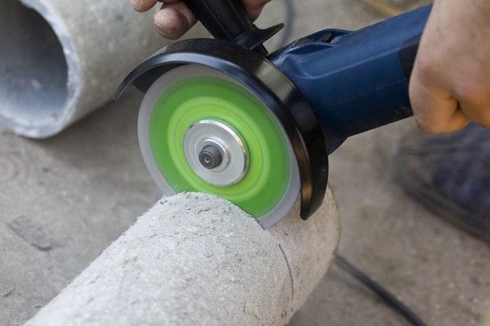 Как разрезать асбестоцементную трубу