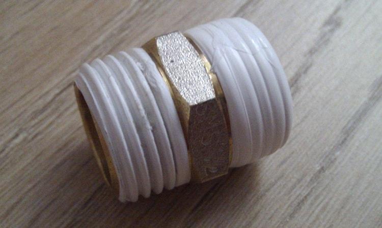 Намотка фум ленты фото