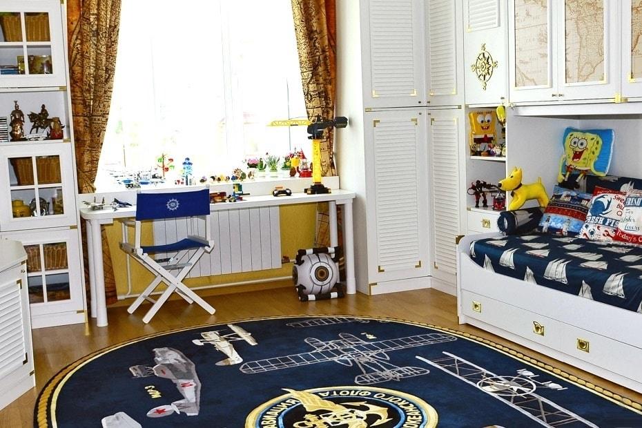Пол в детской комнате фото