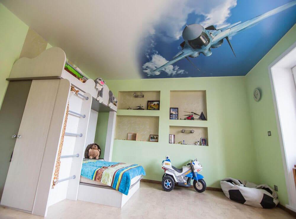 Полы в детской комнате фото