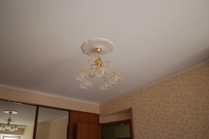 Тканевый натяжной потолок плюсы и минусы фото